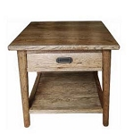 Malibu 1 Drawer Side Table